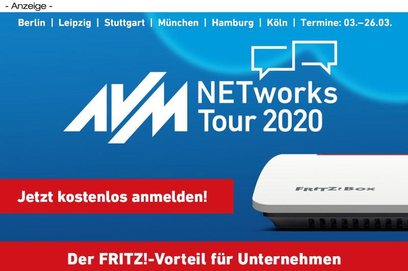 AVM auf der NETworks Tour 2020