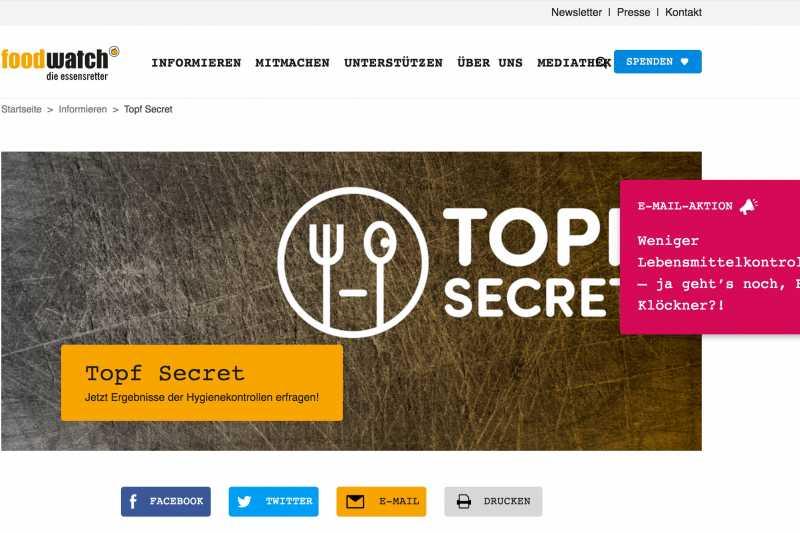 Gericht stärkt Topf Secret