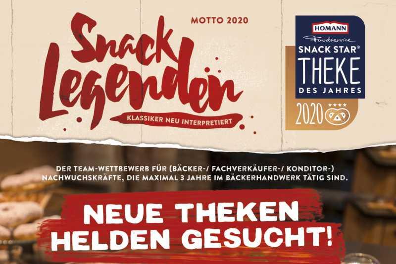Attraktive Preise winken: Jetzt für die Snack Star Theke 2020 bewerben