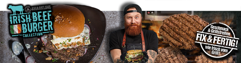 """Irish Beef Burger Collection"" – innovative Burger-Highlights"