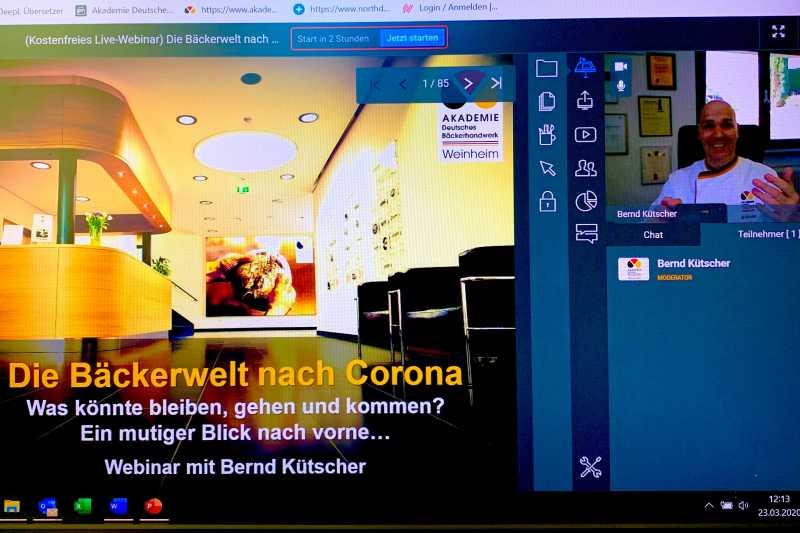 Großer Andrang auf Webinare aus Weinheim