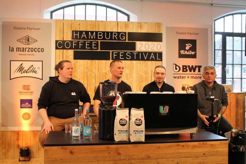 Hamburg feiert den Kaffee