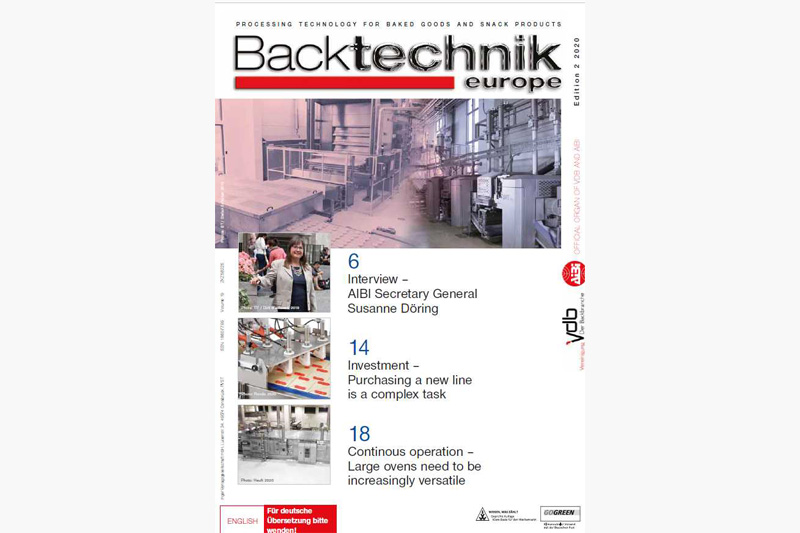 Backtechnik europe zum Download