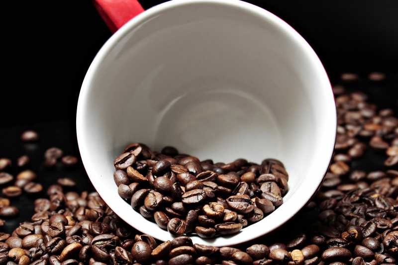 Kaffeekonsum: wenig Licht und ganz viel Schatten