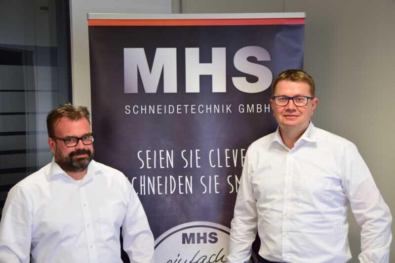 Neue Geschäftsführung bei MHS-Schneidetechnik
